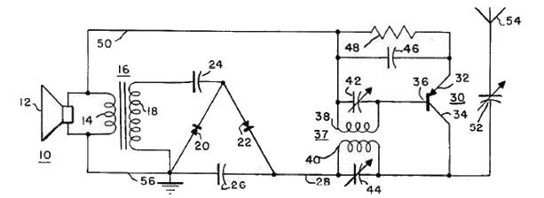 Рис. 1 Схема передатчика и