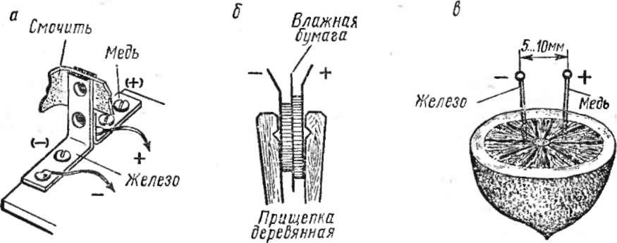 радиоэлектронные самодельные устройства с питанием от земляной батареи